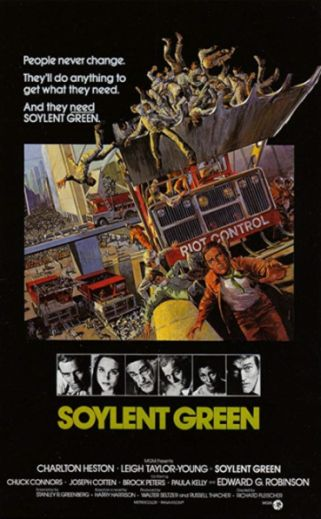 Soylent Green Energy is not new at all and is the wave of the green movement which pukes all over us and mother nature's bosom as they promote using wind energy and solar which use more fossil fuels than anything