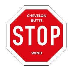 Chevelon Canyon is subject to exploitation by ugly wind turbines
